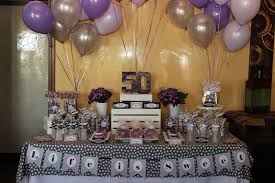 fine 50 year birthday decoration ideas 5 became inexpensive