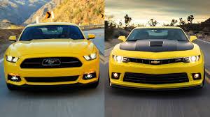camaro vs mustang comparativa chevrolet camaro vs ford mustang