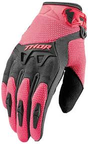 thor phase bonnie jersey ladies black pink motocross women s
