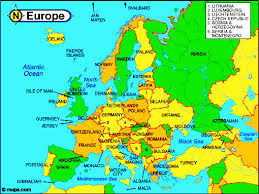 atlas map of europe map of europe world atlas major tourist attractions maps