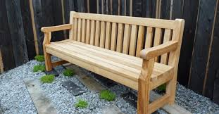 Designer Wooden Garden Bench by Oak Garden Furniture Bespoke Oak Furniture Design