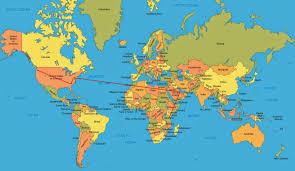 Doha Map Qatar World Map Roundtripticket Me