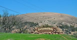 hike enchanted rock state park in texas hill country our