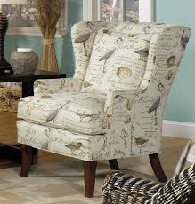 living room furniture north carolina living room chairs with bird upholstery bird song wing chair