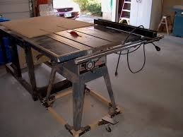 skil 10 inch table saw a good starter table saw woodworking talk woodworkers forum