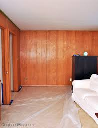 stained wood panels how to paint wood paneling cherished bliss