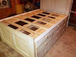 Plans For A Platform Bed With Drawers by Build Platform Bed With Storage Storage Decorations