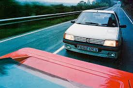 peugeot 205 gti peugeot 205 gti 1 9 vs lotus esprit turbo 5000 miles in a week