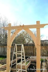 wedding arches home depot how to build a garden arbor elcorazon club