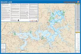 St Croix Map Lake Fishing Map