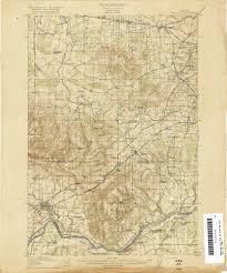 Roseburg Oregon Map Oregon Historical Topographic Maps Perry Castañeda Map