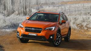 orange subaru forester 2018 subaru xv review first drive chasing cars