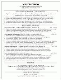 Medical Objective For Resume Medical Office Manager Job Description For Resume Free Resume