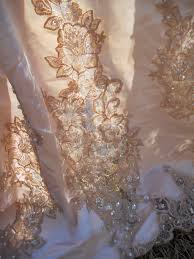 lillys lace how to tea stain a wedding dress