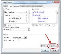 how to insert a table of contents in word u2013 love your dissertation