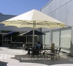 Commercial Patio Umbrella Patio Shade Umbrellas Commercial Norcal Permanent