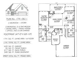two bedroom floor plans house 1 story 2 bedroom house plans