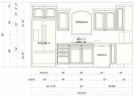 kitchen remodel average height of base kitchen cabinets standard