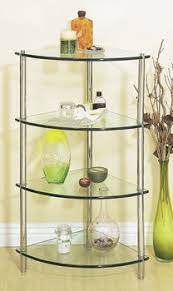 Glass Bathroom Corner Shelves Corner Glass Shelves For Bathroom My Web Value