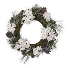 hydrangea holiday wreath christmas tree shops andthat