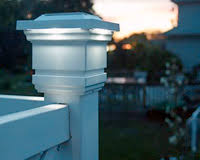Solar Lights Fence - sunny solar light gardensolar post light solar powered lamp post cap