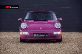 pink porsche 911 porsche 911 964 carrera rs for sale vehicle sales dk engineering