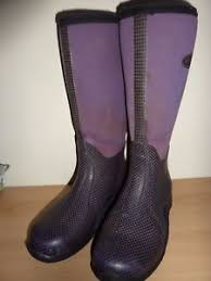 s muck boots uk womens muck boot co tack purple wellington boots size 5 uk eur 38