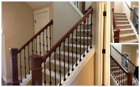 Staircase Makeover Ideas Cost Of New Banister Best Staircase Makeover Ideas On Staircase