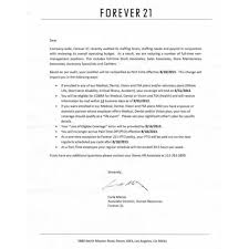 Resume Print Out Forever 21 Sales Associate Cover Letter