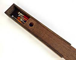 wooden supply box etsy
