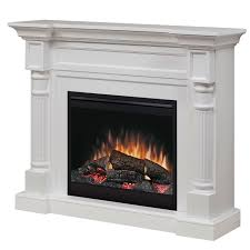 Electric Fireplace With Mantel Dimplex Winston Electric Fireplace Mantel Package In White Dfp26