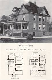 Queen Anne Style House Plans Queen Anne Victorian Design And Plans 1896 Floor Plans