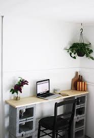 faire un bureau pas cher chambre faire un bureau pas cher diy avec des parpaings faire un
