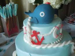 baby shower whale theme seascape shower soiree for special baby on the way