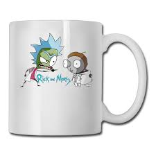 rick and morty coffee mug design your own teacher tazas ceramic