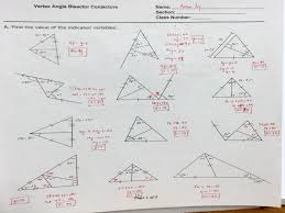 worksheet triangle sum and exterior angle theorem guillermotull