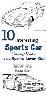 sports car coloring page 46 best salvajes images on pinterest drawings animals and