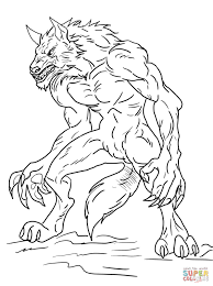 fresh werewolf coloring pages 97 for your free coloring kids with