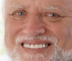 Meme Guy - old guy smiling meme blank template imgflip