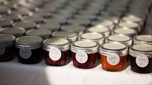 jam wedding favors favors for wedding guests get personal creative