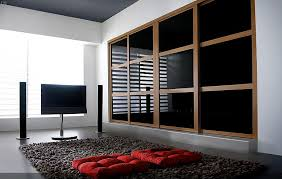 Contemporary Fitted Bedroom Furniture Awesome Look Pax Fitted Wardrobes Design For Bedroom Black Brown