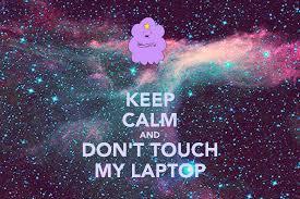 halloween laptop backgrounds don u0027t touch my computer wallpaper wallpapersafari