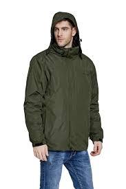 men s mountain light jacket men s 3 in 1 mountain light hooded jacket forest green mountec