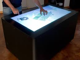 Touch Screen Coffee Table by Multi Touch Screen Coffee Table Raspberry Pi Addicts Microsoft