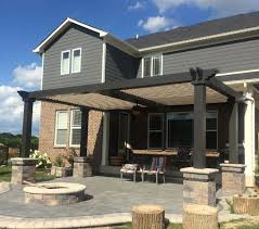 How To Build A Pergola On An Existing Deck by Smart Pergolas Adjust To Any Weather Angie U0027s List