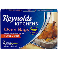 turkey bags kitchens turkey size oven bags 2 ct box walmart