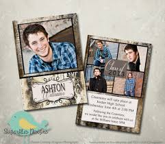 senior graduation announcement templates graduation announcement photoshop template senior graduation