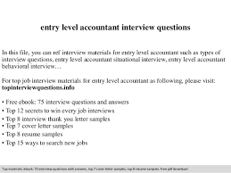 resume exles entry level accounting clerk salaries in new york entry level accountant interview questions 1 638 jpg cb 1409518072
