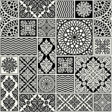 patchwork tiles background u2014 stock vector xenia ok 65734119