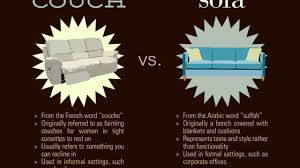 couch vs sofa difference between couch and sofa youtube